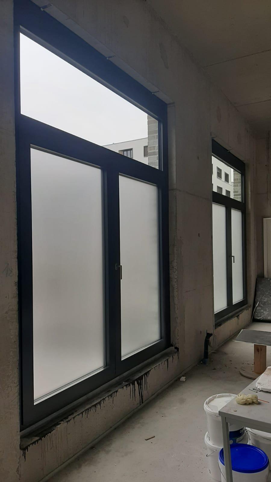 Sichtschutzfolierung Baustelle